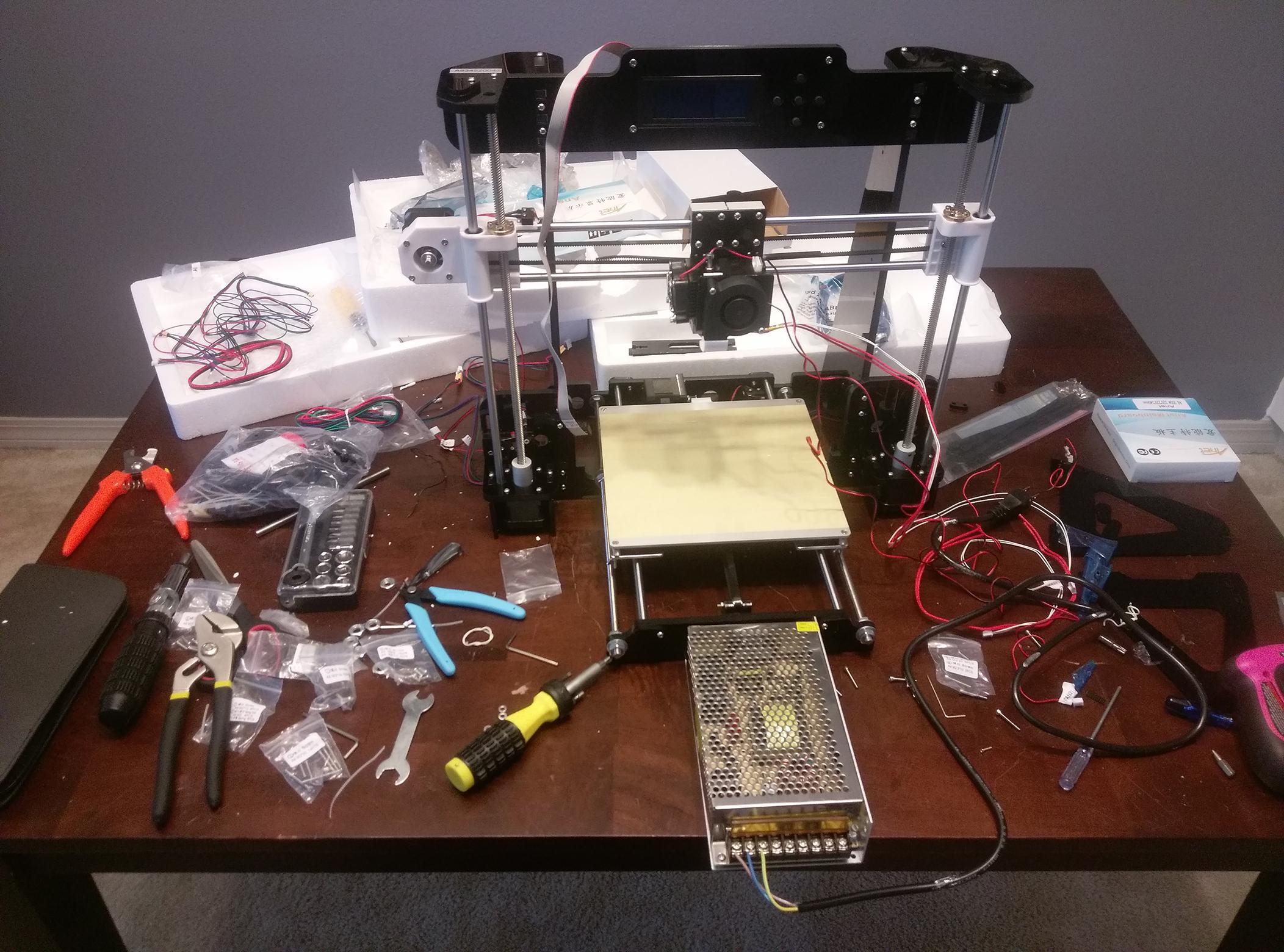 Review: The Anet A8 3D Printer - Let's Print 3D