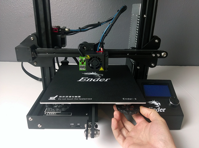 photograph about Ender 3 Printable Upgrades named Advisor: How toward Enhance the Y-Carriage Plate (Ender-3) - Will allow
